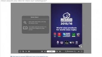 Rhino Rugby Training Equipment and Teamwear