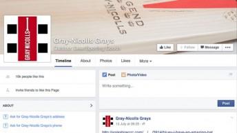 Gray-Nicholls Cricket on Facebook